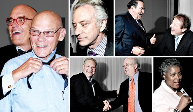 Camera: Karl Rove and friends duke it out for the Friends of Simon Wiesenthal Center for Holocaust Studies