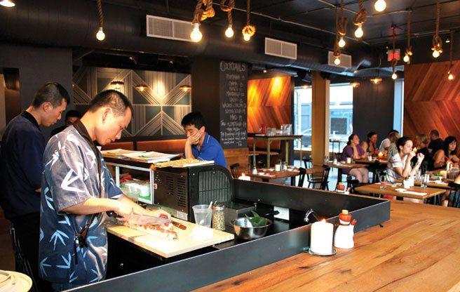Introducing: Kanji Sushi and Sake Bar, Parkdale's new Japanese fusion restaurant