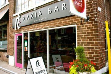 Introducing: Rakia Bar