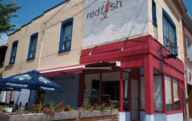 Introducing: Red Fish, a new West Coast–inspired seafood restaurant on College