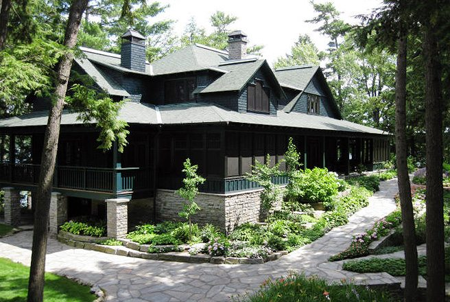 Cottage of the Week: $12 million for a manicured 1.6-acre island in Muskoka