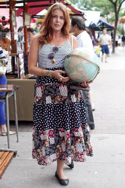 Street Style: 18 looks at the St. Lawrence Sunday Antique Market