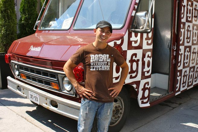 Introducing: Fidel Gastro's new food truck, the roving home base of the rebel without a kitchen