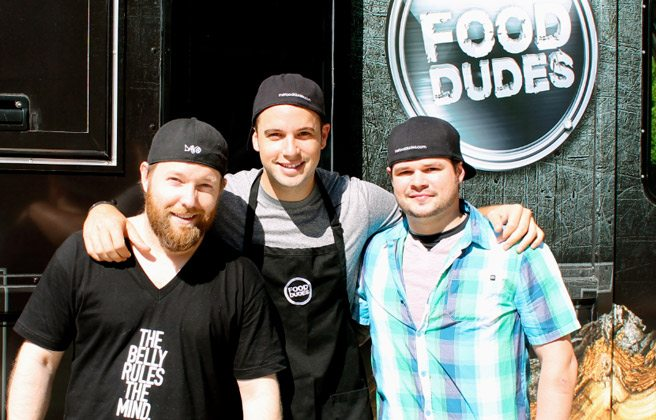 Introducing: The Food Dudes' new food truck