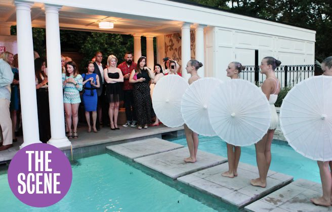THE SCENE: socialites and synchronized swimmers at Greta Constantine's late-summer party