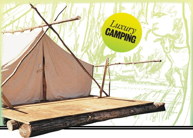 Happy Glamping: an indoorsy person's guide to the great outdoors