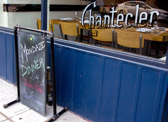 Introducing: the Monday's Dinner chef series at Chantecler