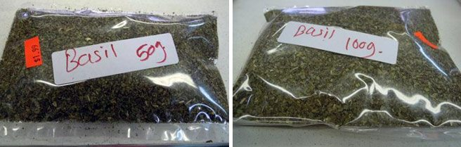 Totally Recalled: still more dried basil (including some from Kensington Market shops)