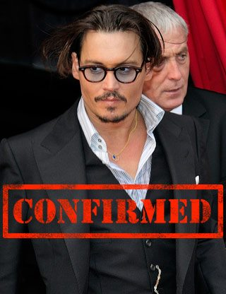 CONFIRMED: Johnny Depp will be at TIFF 2012 (playing Johnny Depp)
