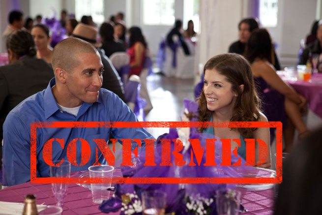 CONFIRMED: Jake Gyllenhaal will be back in town for TIFF 2012 (with Anna Kendrick in tow)