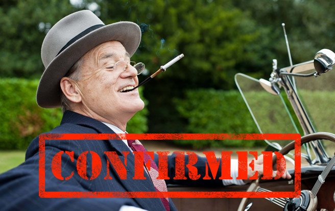 CONFIRMED: Bill Murray is coming to TIFF—but will he join any karaoke parties?
