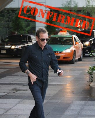 CONFIRMED: Kiefer Sutherland returns for TIFF 2012
