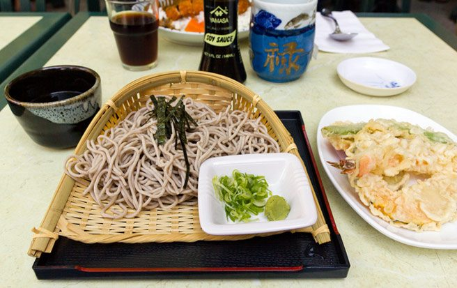 Weekly Lunch Pick: the refreshing soba lunch special at Baldwin's Konnichiwa
