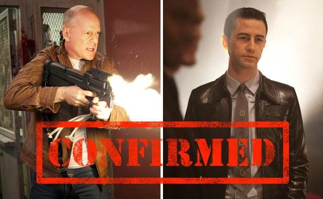CONFIRMED: Bruce Willis and Joseph Gordon-Levitt will be at TIFF 2012