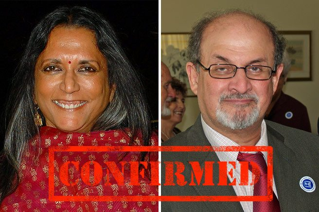 CONFIRMED: Deepa Mehta and Salman Rushdie are coming to TIFF 2012