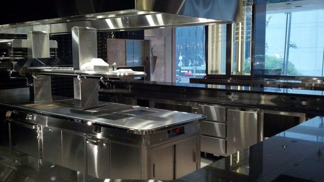 Momofuku Toronto's kitchens are huge and gleaming (and almost ready to go)