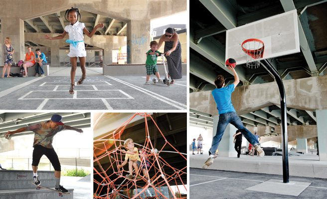 Reason to Love Toronto: because we build parks under our expressways