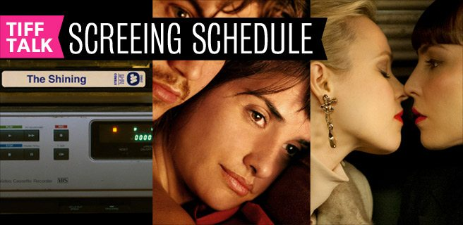 TIFF 2012 Film Schedule: Thursday, September 13