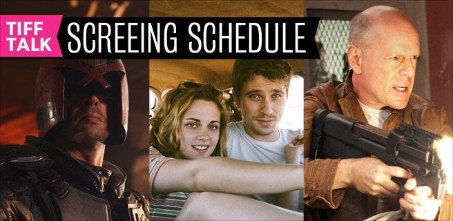 TIFF 2012 Film Schedule: Thursday, September 6