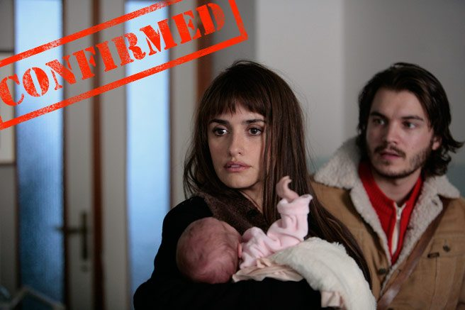 CONFIRMED: Penélope Cruz and Emile Hirsch will attend TIFF 2012