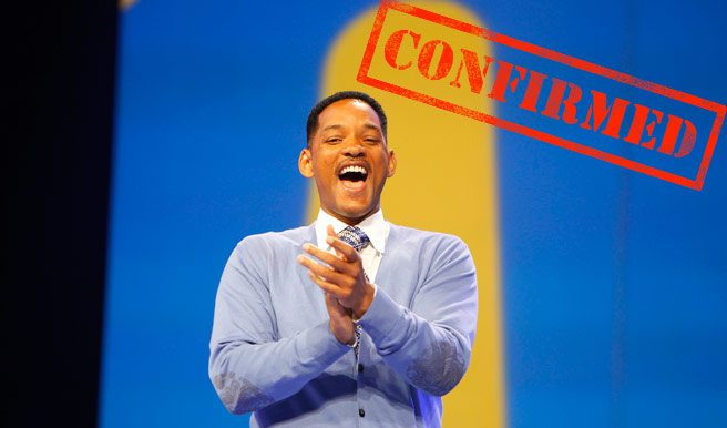 CONFIRMED: Will Smith is coming to TIFF 2012