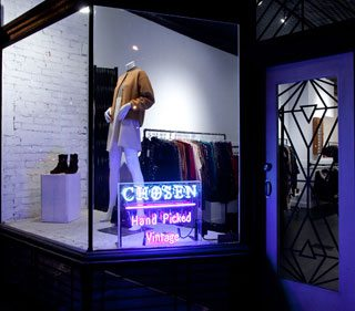 Vintage store updates: Chosen has new digs, Rescue officially opens