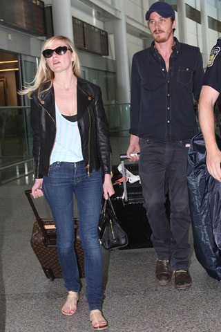 SPOTTED: Kirsten Dunst on the road with beau Garrett Hedlund
