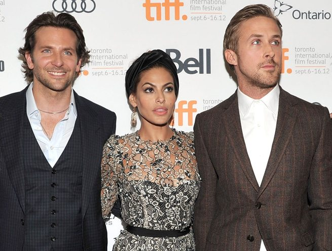 TIFF RED CARPET: Ryan Gosling, Eva Mendes and many man hugs at The Place Beyond the Pines