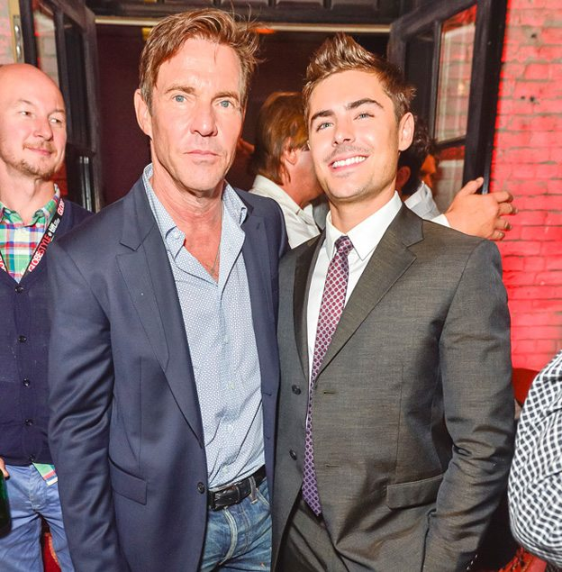 TIFF PARTY: Zac Efron, Dennis Quaid and Maika Monroe at the At Any Price post-premiere party