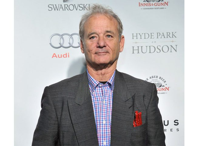 SPOTTED: red licorice in Bill Murray's suit pocket