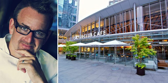 Rob Feenie's Cactus Club Cafe is coming to the Financial District next year