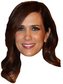 SPOTTED: Funny lady Kristen Wiig arrives at Pearson