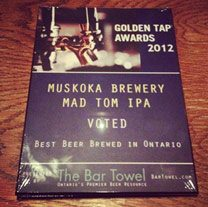 Once again, Bar Volo cleans up at the annual Golden Tap craft beer awards