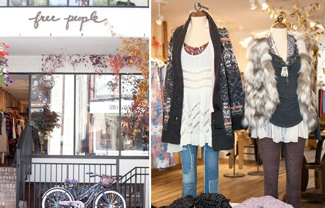 Introducing: Free People, the haute boho brand's first international outpost