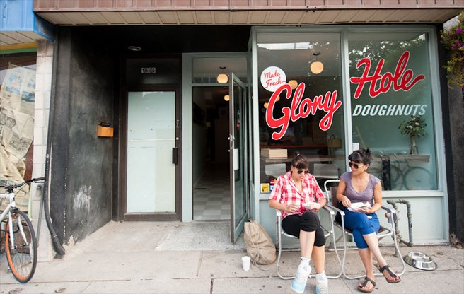 Introducing: Glory Hole Doughnuts, Ashley Jacot De Boinod's new crowdfunded Parkdale shop