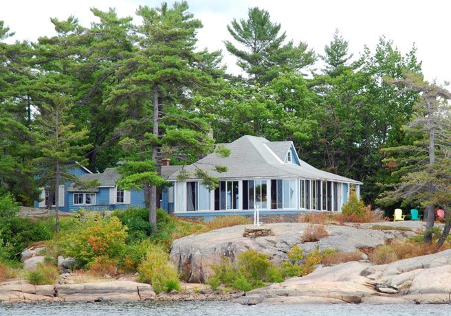 Cottage of the Week: $1.6 million for a secluded three-acre island