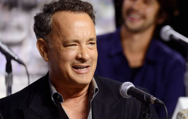TIFF PRESS CONFERENCE: Tom Hanks gets everyone laughing (and singing) at the Cloud Atlas presser