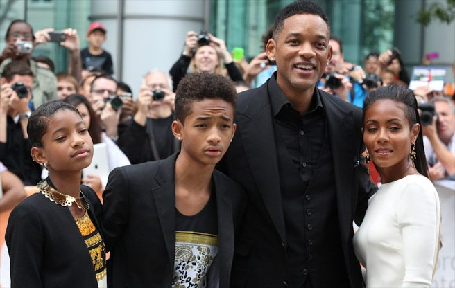 TIFF RED CARPET: The entire Pinkett Smith clan at Free Angela and All Political Prisoners