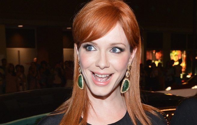 TIFF RED CARPET: Christina Hendricks and Elle Fanning are both ginger at the Ginger and Rosa special presentation