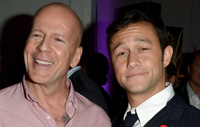 TIFF PARTY: Joseph Gordon-Levitt outlasts most of the partygoers at a late-night Looper bash