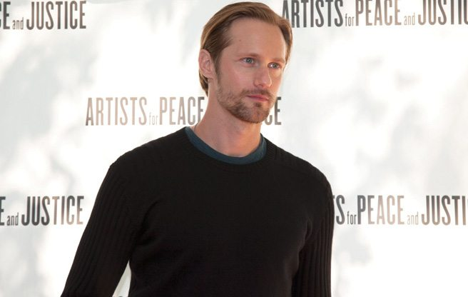 TIFF PARTY: Jude Law and Alexander Skarsgård get hearts thumping at the Artists for Peace and Justice luncheon