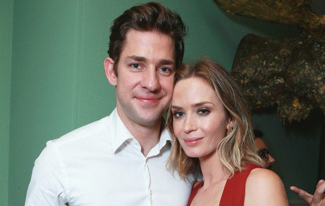 TIFF PARTY: Emily Blunt and John Krasinski have a threesome with a moose at Soho House