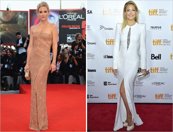 Venice vs. TIFF fashion showdown, Kate Hudson edition