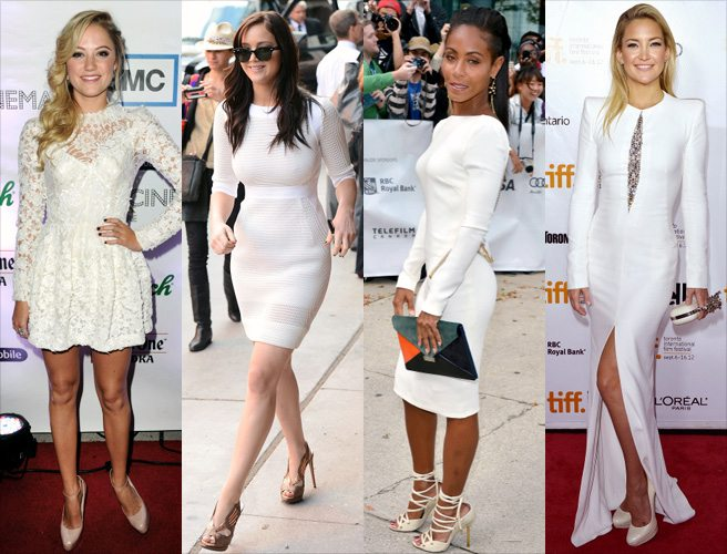 TIFF FASHION POLL: Girls in white dresses (including Jennifer Lawrence and Kate Hudson)