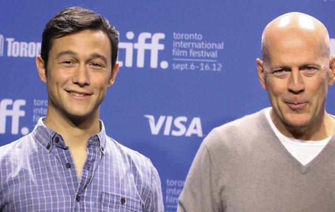 TIFF PRESS CONFERENCE: Bruce Willis on Joseph Gordon-Levitt playing Bruce Willis in Looper