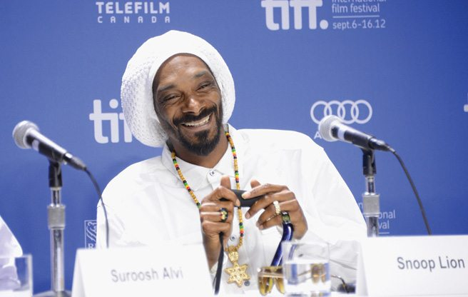 TIFF PRESS CONFERENCE: Snoop Dogg/Lion is surprisingly sincere at the Reincarnated presser