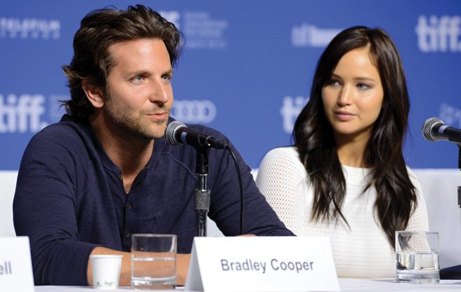 TIFF PRESS CONFERENCE: Jennifer Lawrence teases Bradley Cooper at the Silver Linings Playbook presser