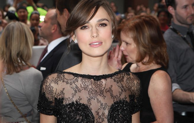 TIFF RED CARPET: Keira Knightley and Jude Law decked out in black for Anna Karenina