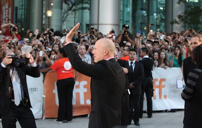 TIFF RED CARPET: Looper's Joseph Gordon-Levitt, Bruce Willis and Emily Blunt (plus John Krasinski!) open the festival