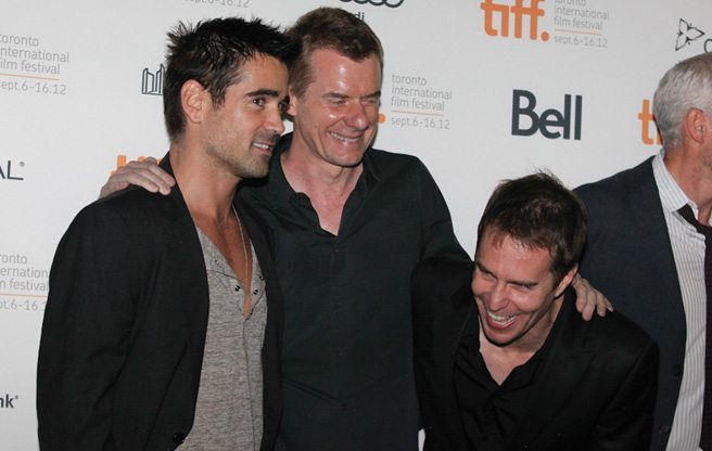 TIFF RED CARPET: A cute Shih Tzu (plus Colin Farrell, Woody Harrelson and Christopher Walken) at Seven Psychopaths